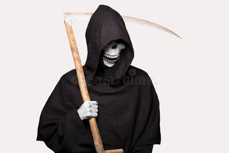 Carácter de Halloween: parca imagen de archivo libre de regalías