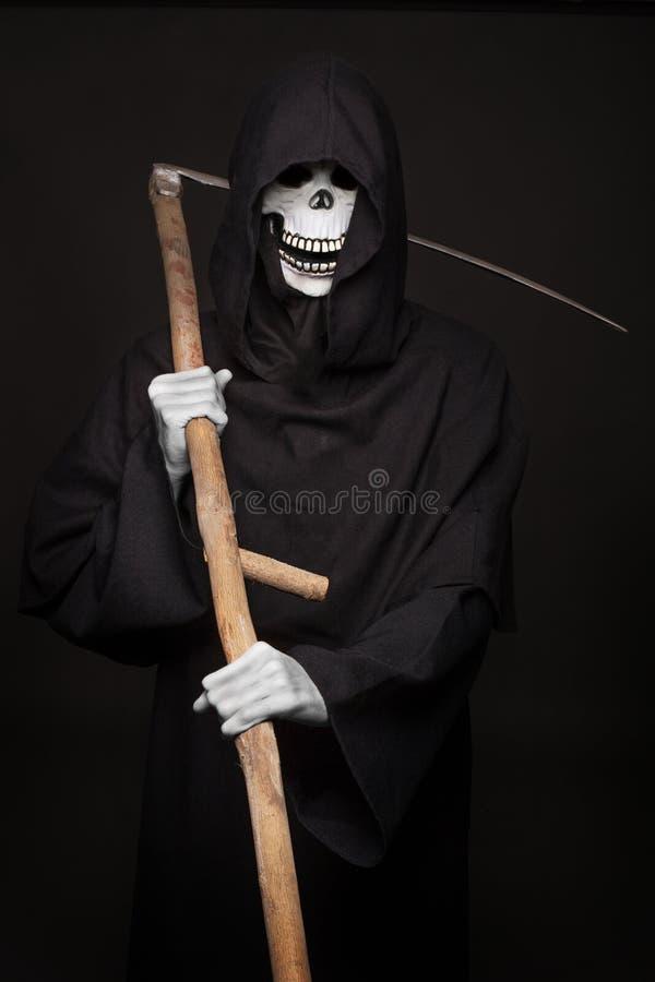 Carácter de Halloween: parca fotografía de archivo
