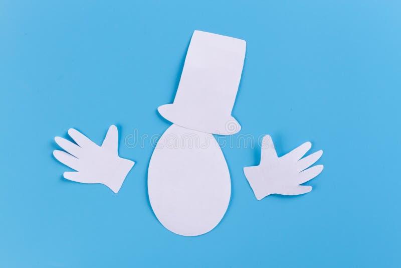 carácter del huevo en cilindro foto de archivo