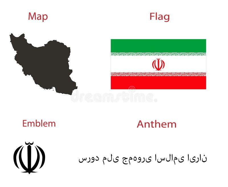 Carácter nacional del país Irán fotos de archivo libres de regalías