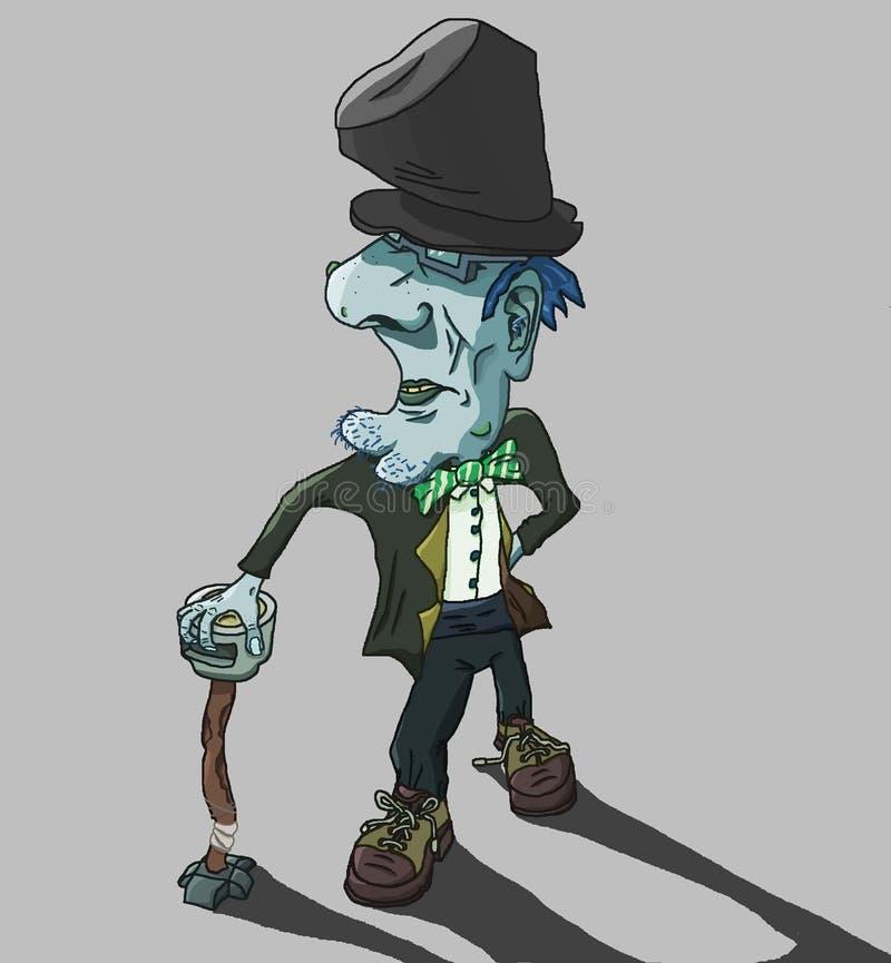 Caráter aleatório1 ilustração do vetor