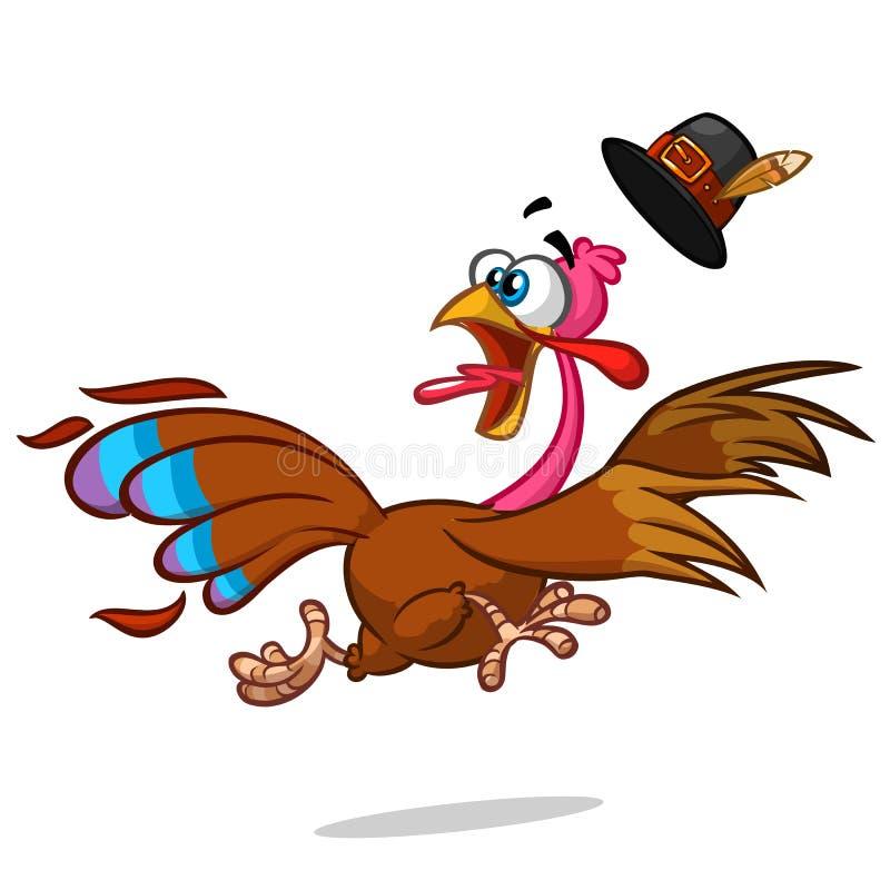 Caráter da mascote dos desenhos animados do escape de Turquia