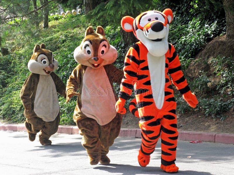 Caráteres de Disney fotos de stock