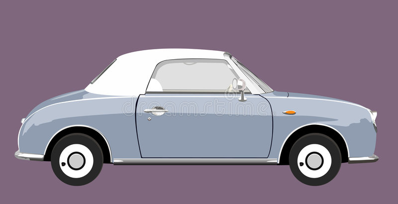 Car 101. Illustration of classic car stock illustration