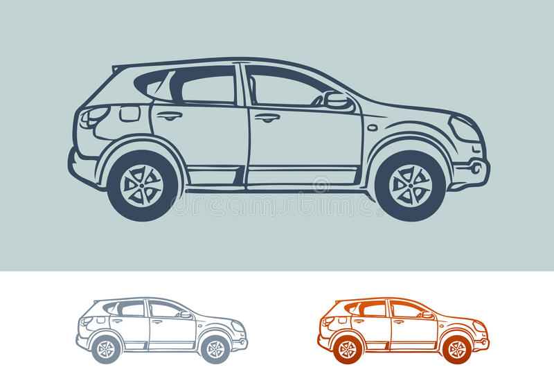 Car royalty free illustration