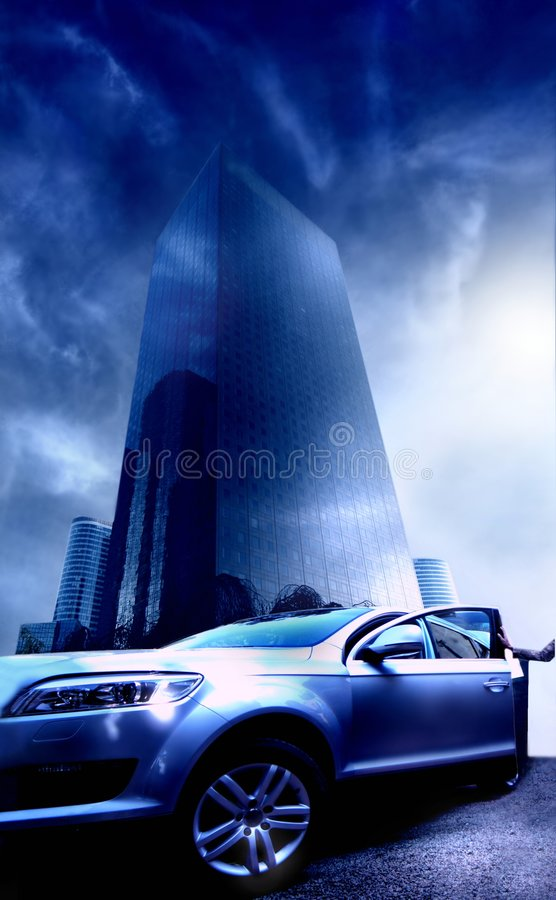 Download Car 154 stock image. Image of architecture, city, night - 4411033