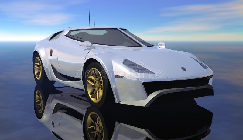 Download Car stock illustration. Image of illustration, piloting - 15825195