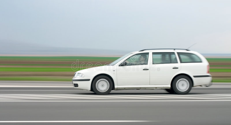 Download Car stock image. Image of combustion, speed, white, tail - 174191