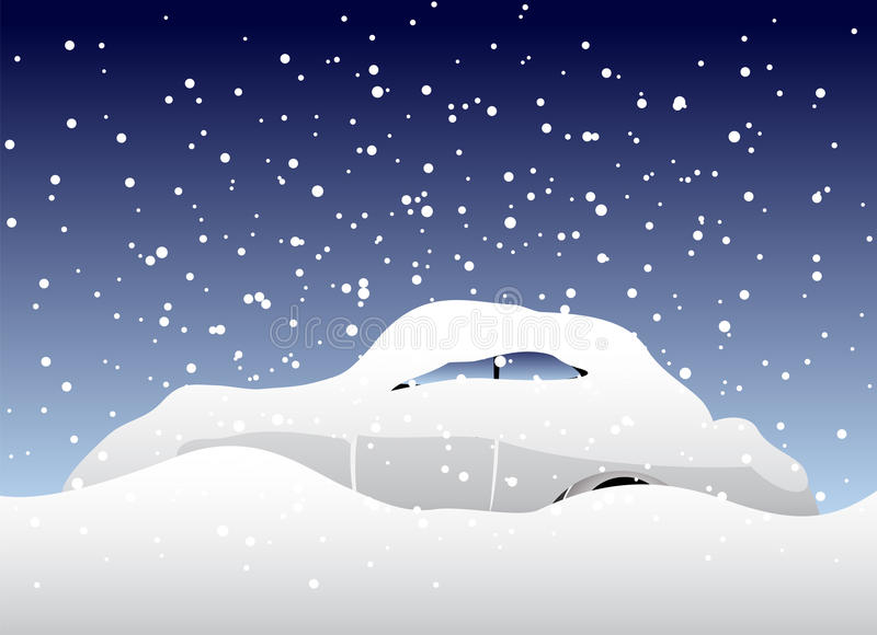 Download Car stock vector. Image of background, snow, harsh, blizzard - 17473064