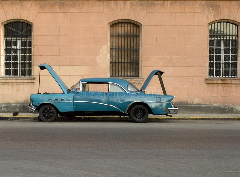 Download Car stock image. Image of coast, antique, brown, cuban - 17898713