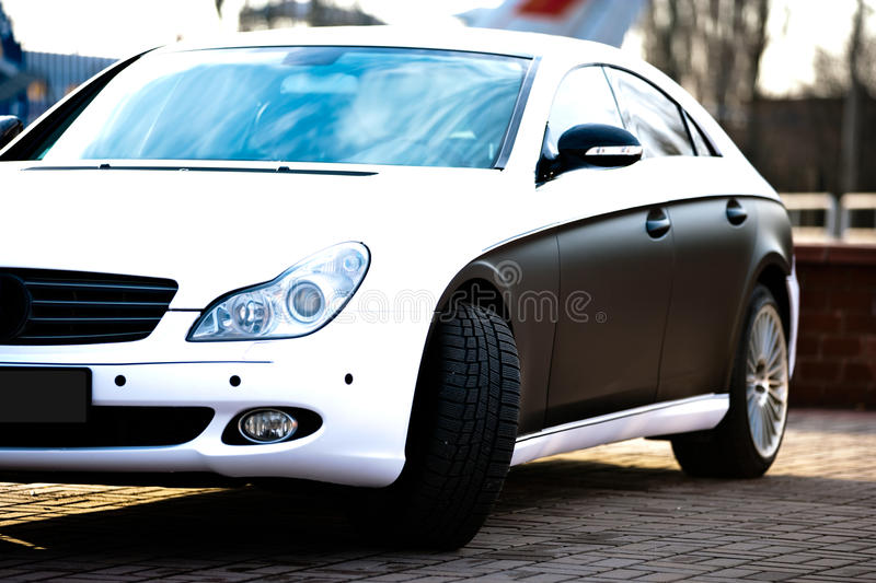 Download Car stock photo. Image of grille, super, business, headlight - 18319392