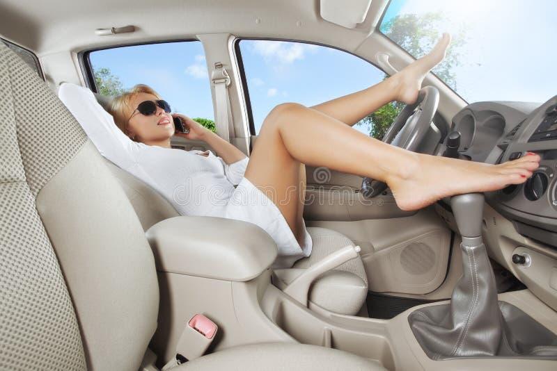Download In car stock photo. Image of female, skin, interior, legs - 23213382