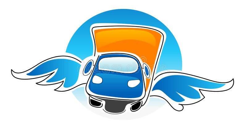Download Car stock vector. Illustration of delivering, cartoon - 24773495