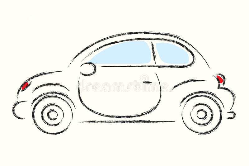 Download Car stock vector. Illustration of illustration, shadow - 27029647