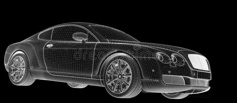Download Car 3D model stock illustration. Image of element, motor - 29382919