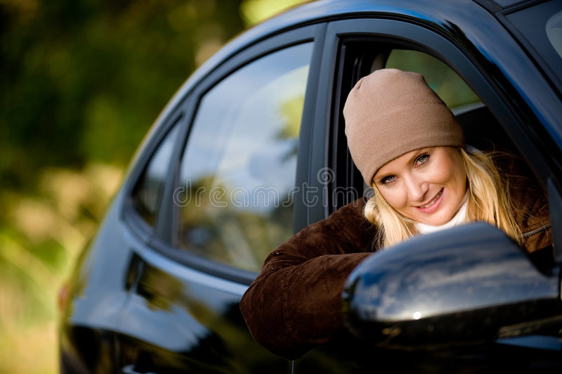 In Car royalty free stock image
