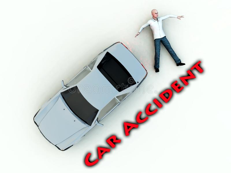 Car Accident 12 royalty free stock photography