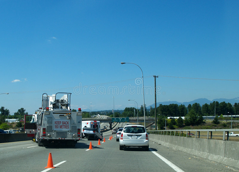 Download Car accident stock image. Image of accident, over, truck - 13047