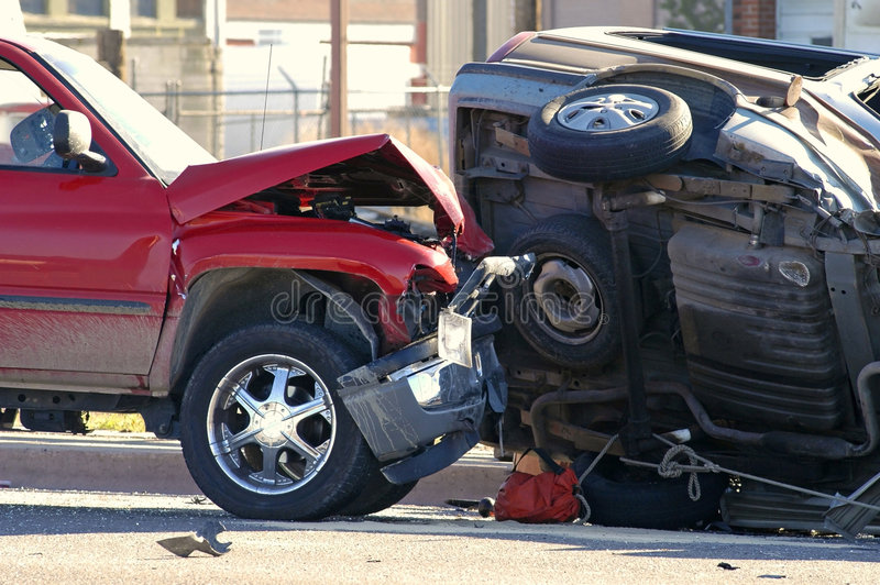 Download Car Accident stock image. Image of safety, truck, dangerous - 3629201