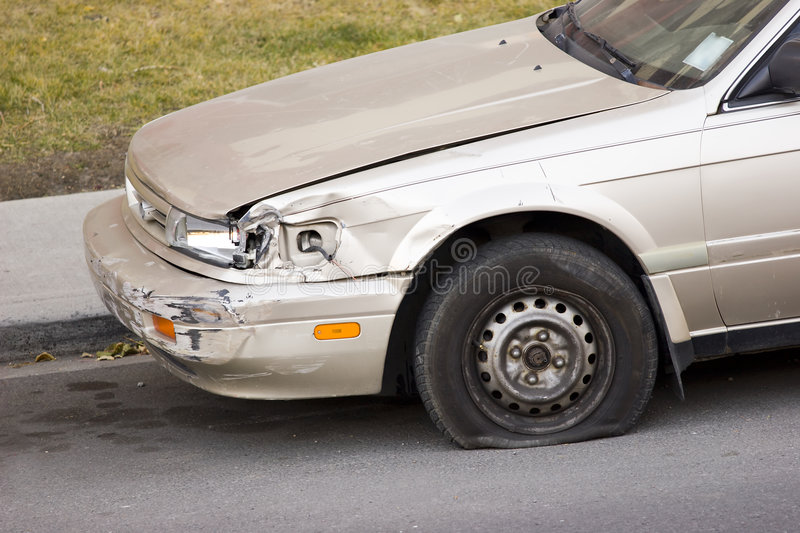 Download Car accident stock image. Image of damage, motor, tyre - 6931583