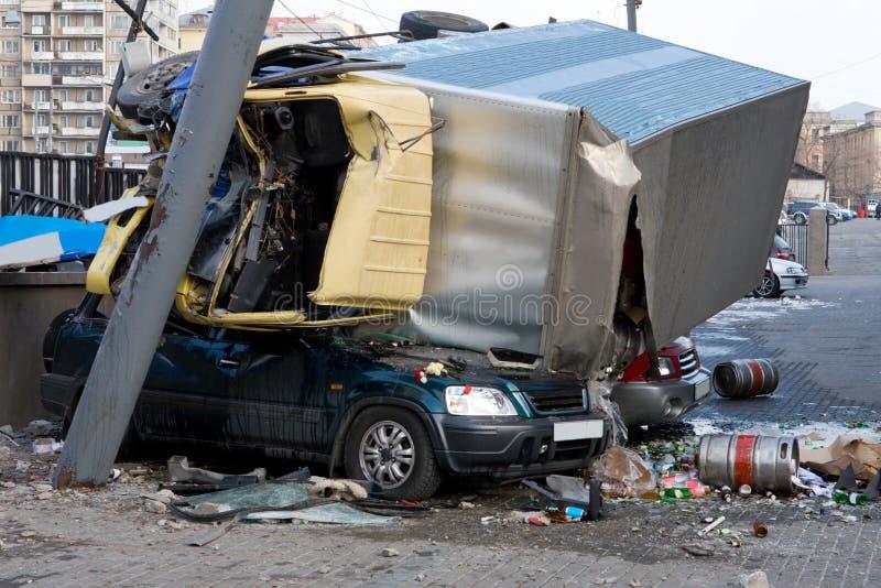 Car Accident Crash stock image