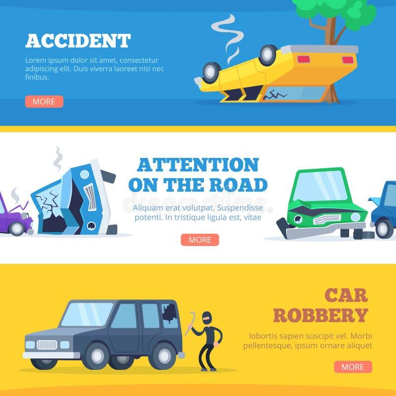 Damaged Cars Stock Illustrations – 183 Damaged Cars Stock