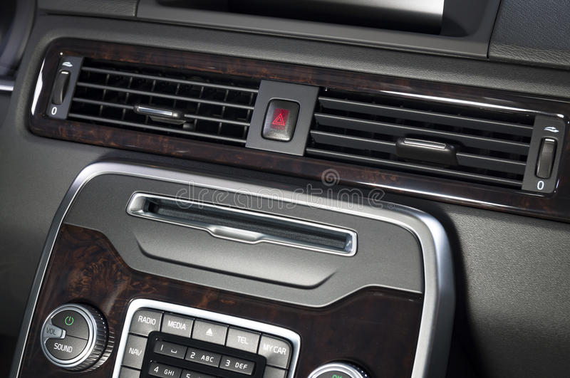 Car air condition royalty free stock photo