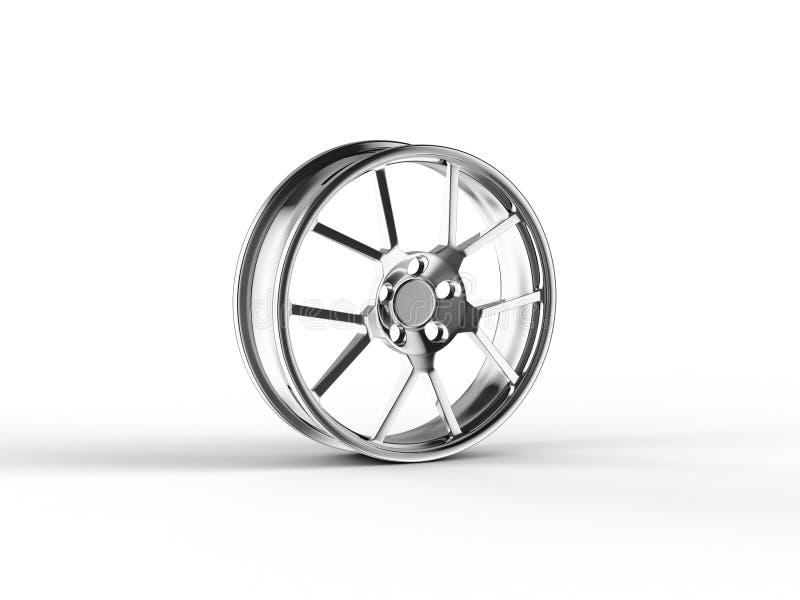 Car alloy rim stock image