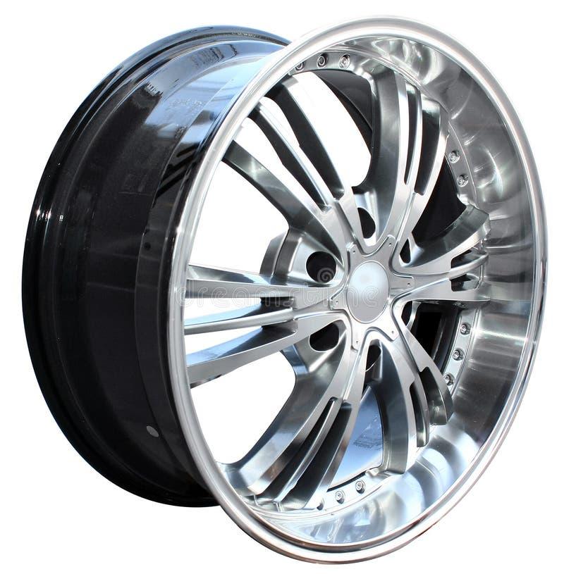 Car alloy wheel royalty free stock photo
