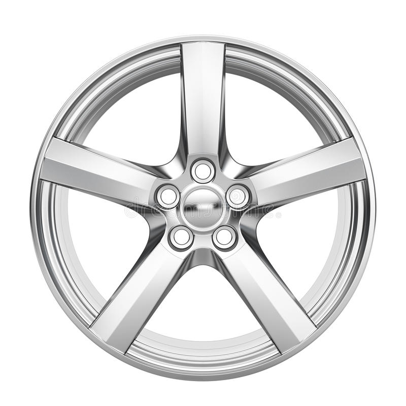 Download Car alloy wheel stock illustration. Image of industry - 23740237