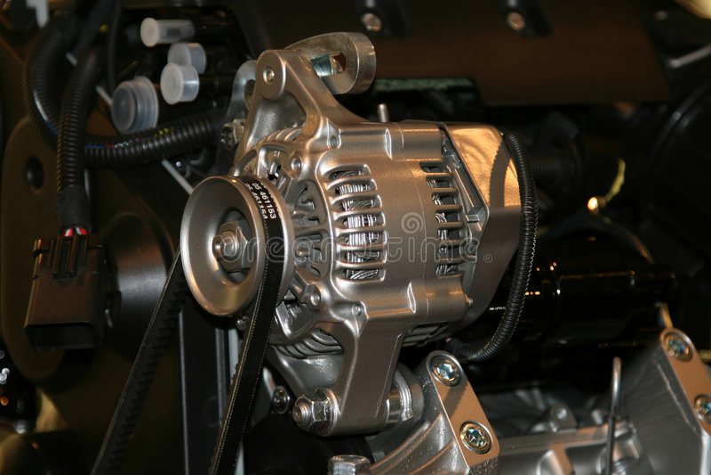 Download Car Alternator Stock Photo - Image: 1466720