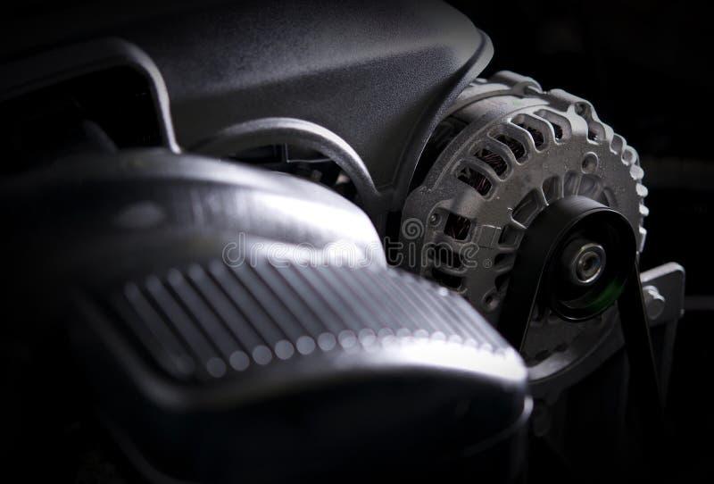Car Alternator Closeup royalty free stock photography