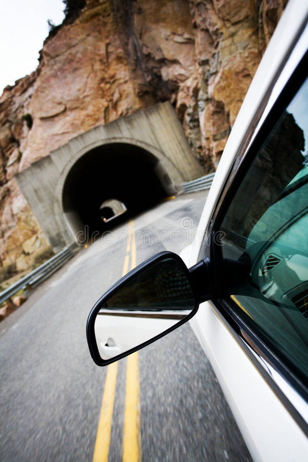 Free Car Approaching Tunnel Stock Photo - 5202080
