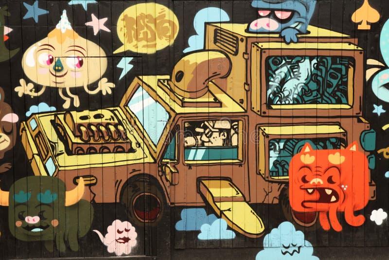 Download Car art editorial image. Image of colorful, design, anarchism - 24267530