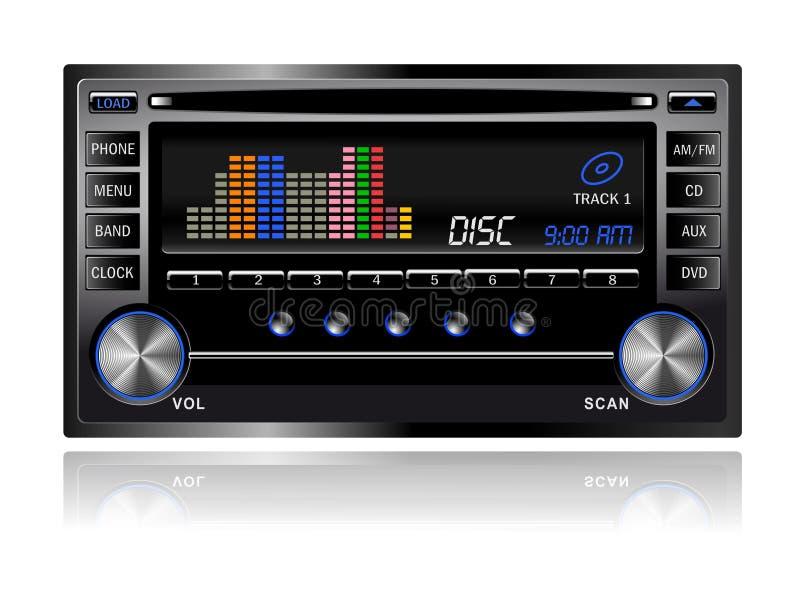 Car Audio Royalty Free Stock Image