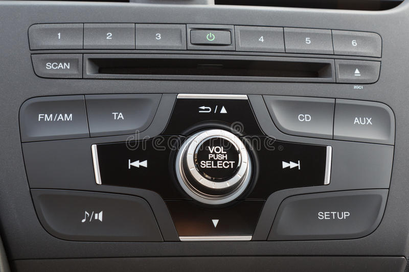 Download Car audio system panel stock image. Image of cabin, indoors - 31857023