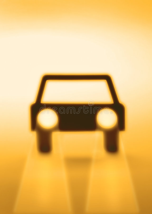Car Auto Insurance Abstract stock illustration
