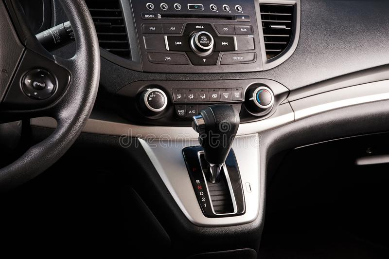 Car automatic gear stock images