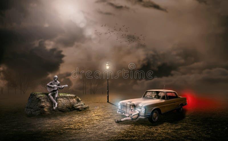 Car, Automotive Design, Dust, Sky royalty free stock image