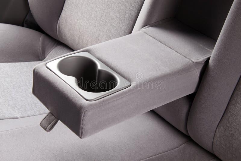Car back seats interior. The car back seats interior stock images