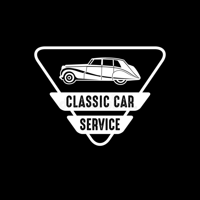 Car Badge and Logo, good for print. Best vector royalty free illustration
