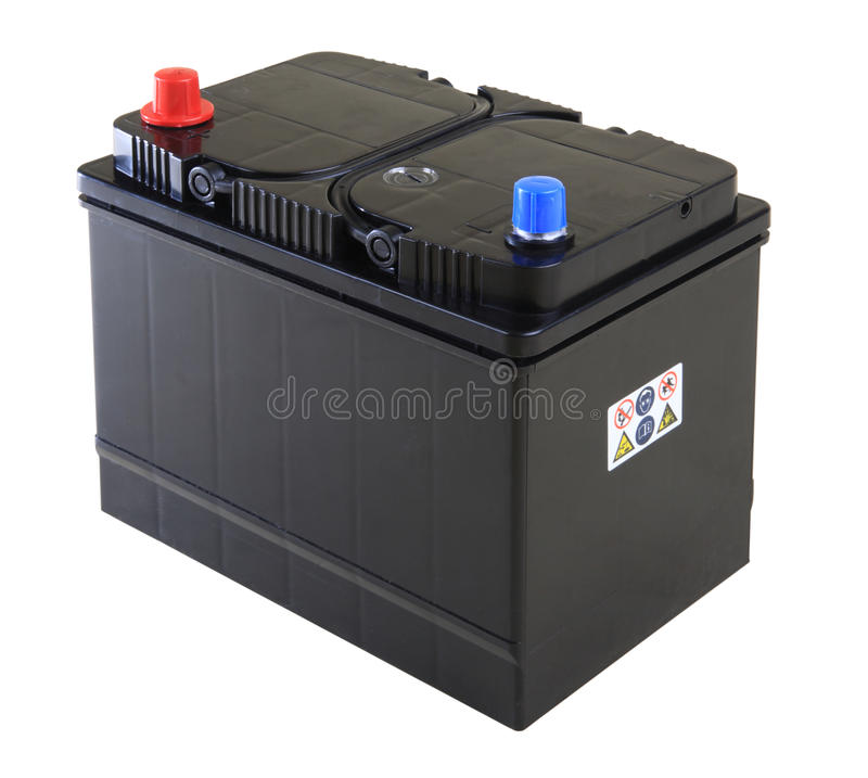 Car battery royalty free stock photography
