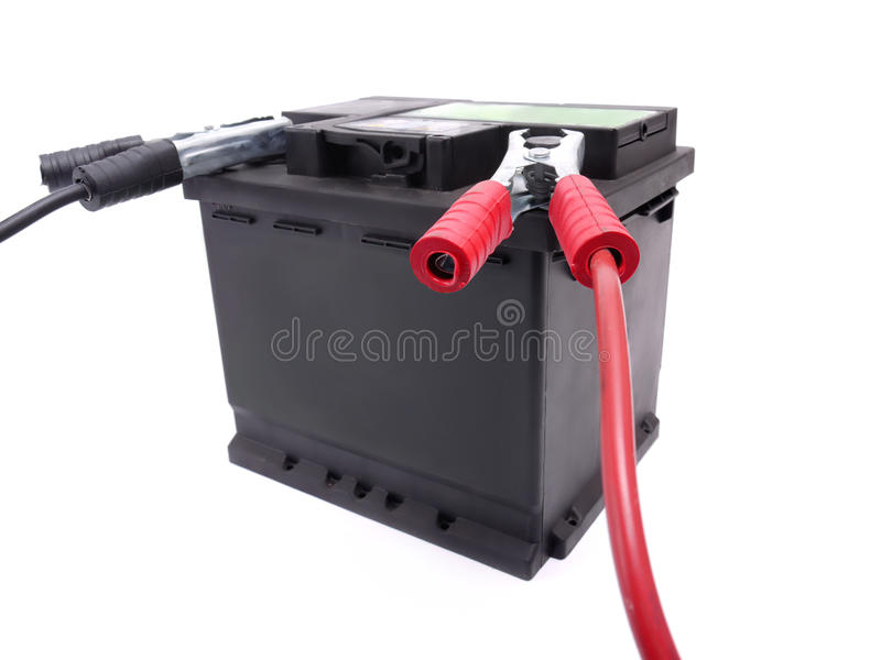 Download Car battery stock photo. Image of dead, leads, charging - 17672148