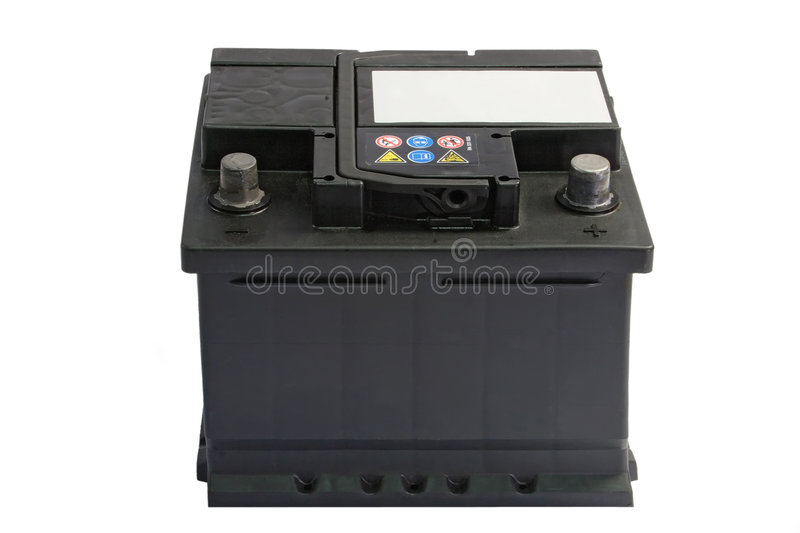 Car Battery stock photography