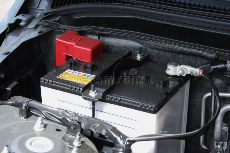 Car battery royalty free stock image