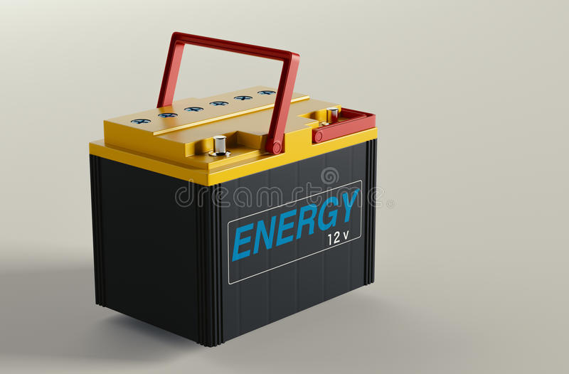 Car Battery Change Stock Image. Image Of Charge, Auto