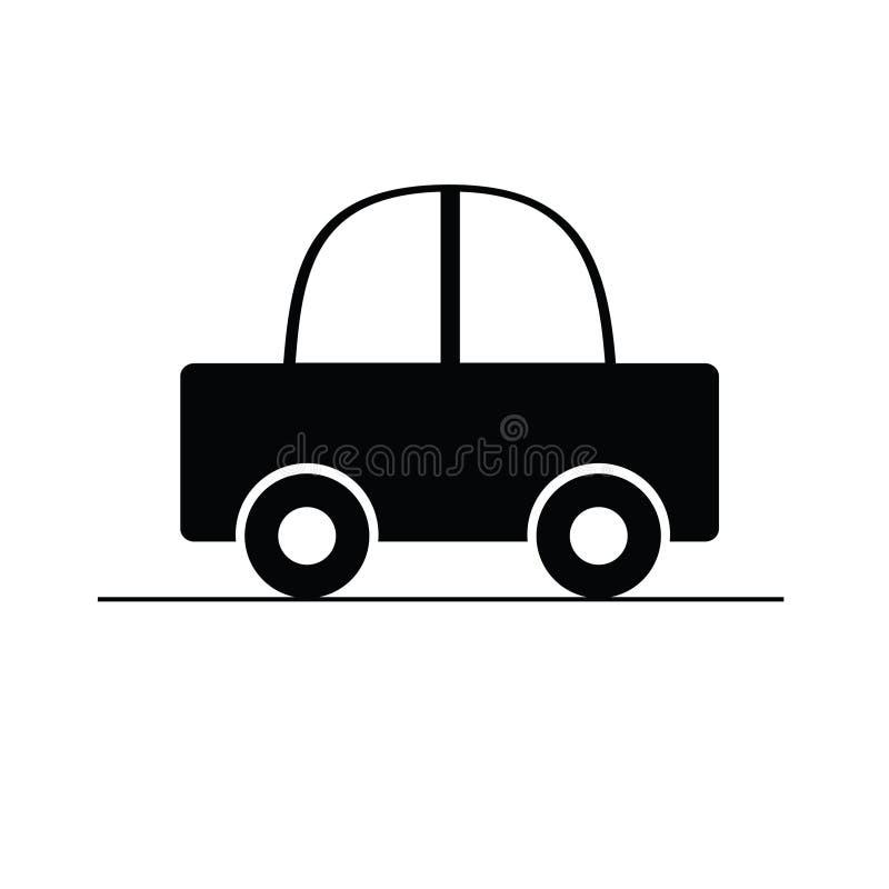 Car black vector illustration vector illustration