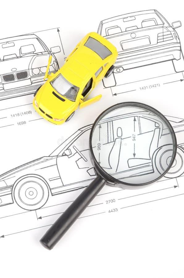 Car blueprint stock photo. Image of model, document, drawing - 28443646