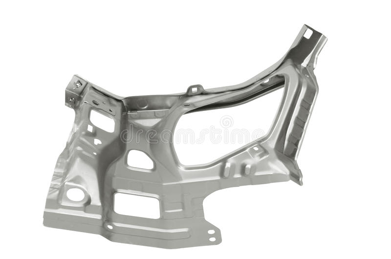 Car body part. On the white background stock photography