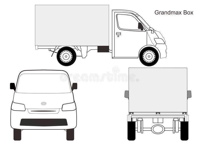 Car Box Vector Stock Vector Illustration Of City Tanjak 99345663